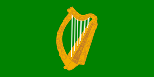 Green Harp Flag from Wikipedia