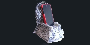 Game of Thrones iPhone dock image from Wired magazine