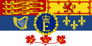 The Queen's Canadian flag