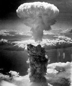 Nagasaki atom bomb image from Wikimedia Commons