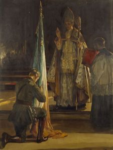 Blessing of the Colours by John Lavery
