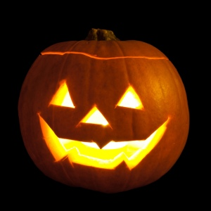 Jack-o-lantern image by William Warby