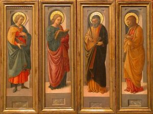 Saints image from Wikimedia Commons