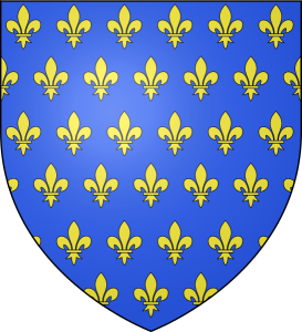 Ancient French coat of arms