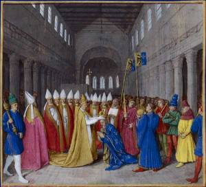 Sacre de Charlemagne by Jean Fouquet