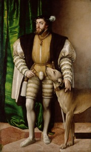 Charles V painting by Titian