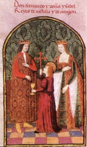 Ferdinand and Isabella image from Wikipedia