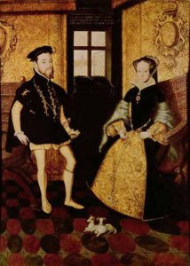 Philip II and Mary I by Hans Eworth