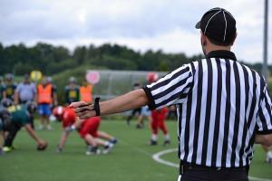 Football referee image by SimonaR