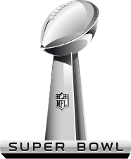 The Super Bowl logo by the NFL
