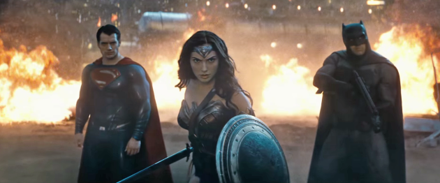 Batman V Superman image from Tech Insider