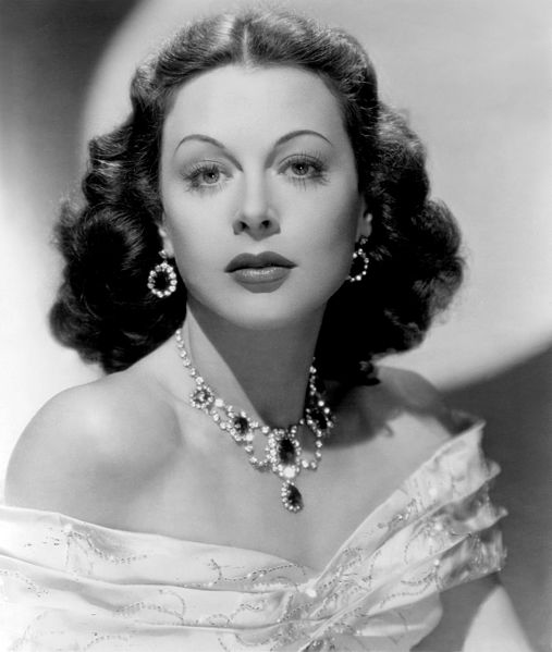 Hedy Lamarr in Let's Live a Little (1948) image from Wikimedia Commons