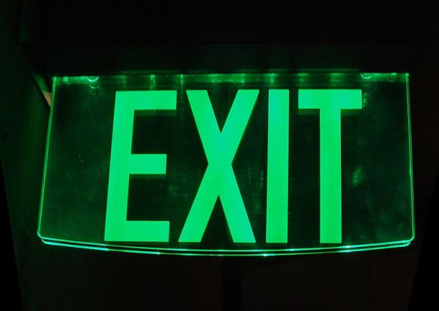Exit sign image by Alton
