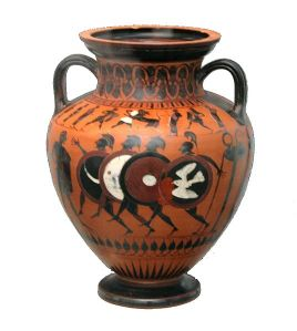 Ancient Greek pottery image by MatthiasKabel