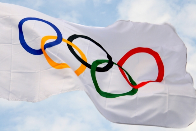 Olympic Flag image from Collins Flags
