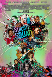 Suicide Squad poster from Wikipedia