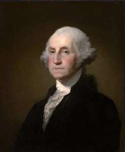 George Washington painting by Gilbert Stuart