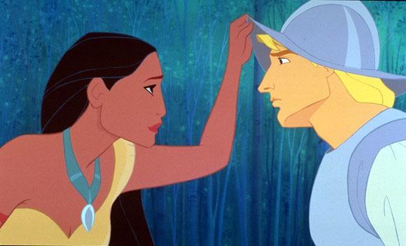 Pocahontas and John Smith Disney image from Fanpop