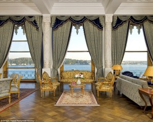 "Puts a whole new meaning to the term ""Royal Suite"""