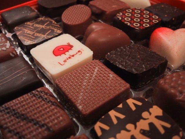 Valentines Day chocolates by John Hritz