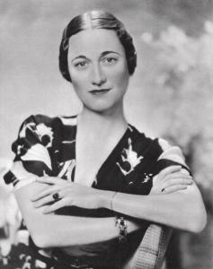 Wallis Simpson photo from 1936 by an unknown photographer
