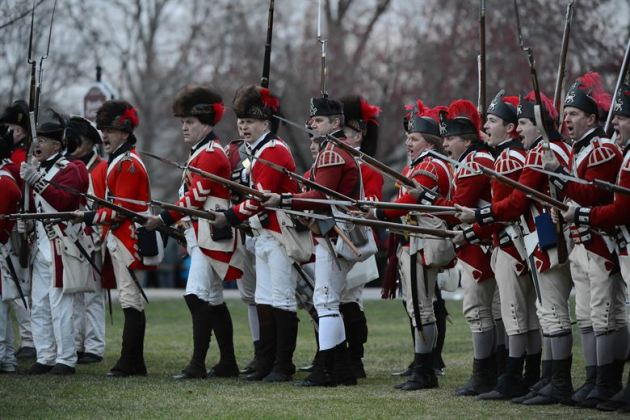 Redcoats image by Jerry Saslav