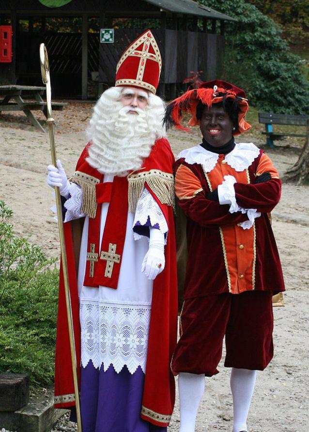 Sinterklaas and Zwarte Piet image by Tenorio81