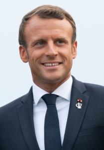 Emmanuel Macron image by Andrea Hanks