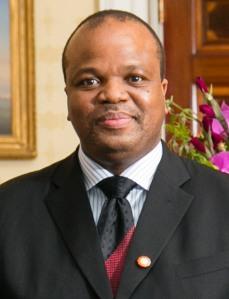 King Mswati III image by Amanda Lucidon