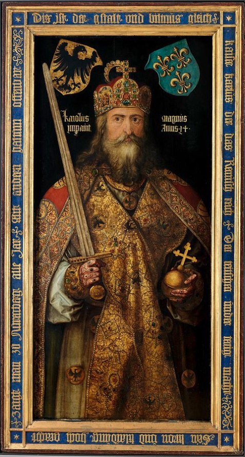 Charlemagne image by Albrecht Durer