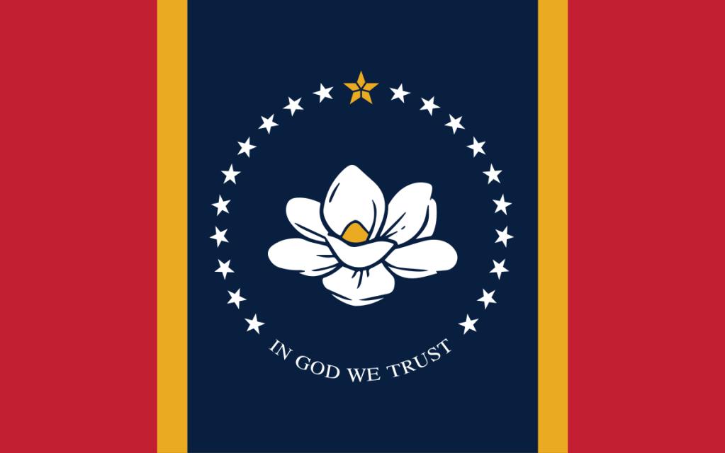 New Mississippi state flag